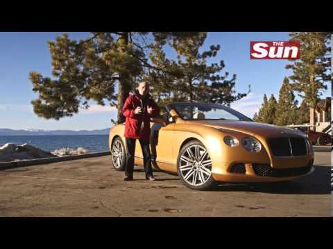 The Sun Motors Editor Ken Gibson takes new gold Bentley on US road trip