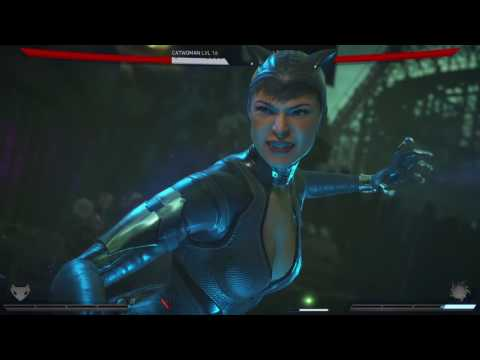 Injustice 2 Catwoman Vs Star Fire
