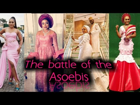 The battle of the Asoebis : Abimbola and Okiki weds