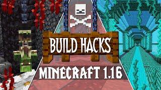 NEW Minecraft 1.16 Nether Update Build Tips & Ideas!