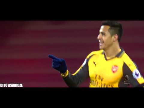 Alexis Sánchez (3rd) Amazing Goal VS West Ham United