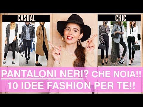 Come abbinare i pantaloni neri: 10 outfits SUPER DI MODA da COPIARE SUBITO!!