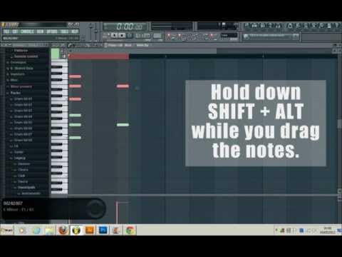 Video FL Studio 10 How To Copy Paste Notes In The Piano Roll download in MP3, 3GP, MP4, WEBM, AVI, FLV January 2017