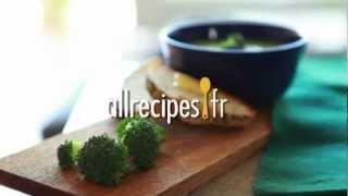 Soupe de brocolis onctueuse
