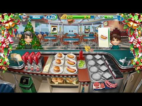 Cooking Fever || Fast Food Court || Level #11 || Games For Kids || 3 ⭐⭐⭐