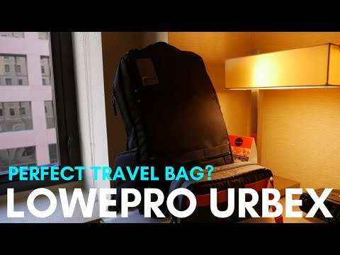 Lowepro Urbex BP 20L Review (Perfect Travel Bag For Content Creators?) Geekoutdoors.com EP765