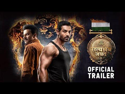 Satyameva Jayate  Official Trailer | John Abraham | Manoj Bajpayee | Aisha S | Milap Milan Zaveri