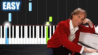 Ballade pour Adeline - Richard Clayderman - EASY Piano Tutorial Ноты и МИДИ (MIDI) можем выслать Вам