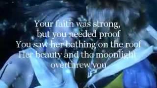 image of John Cale - Hallelujah with lyrics