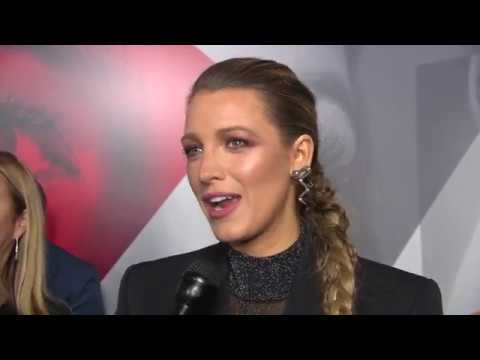 Blake Lively talks about A Simple Favor from the Red Carpet Premiere in New York.