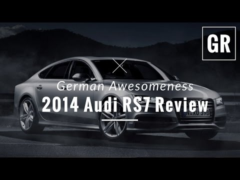 2014 Audi RS7 Twin Turbo Drive and Review – Gadget Review