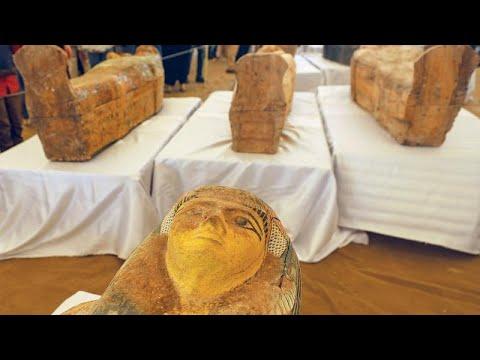 Ανακαλύφθηκαν 30 σαρκοφάγοι του 10ου π.Χ. αιώνα