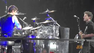 NICKELBACK - Covers LMFAO I'm Sexy and I Know It - Hartford CT - April 27 2012
