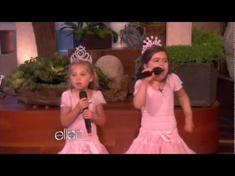 show - When Ellen saw 8-year-old Sophia Grace and her 5-year-old cousin Rosie perform, she wanted them on the show right away. And they're here! All the way from En...