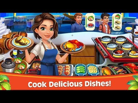 Cooking Rush - Chef's Fever Android Gameplay HD