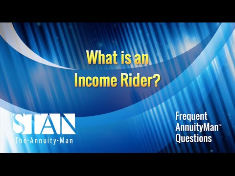 What is an Income Rider?