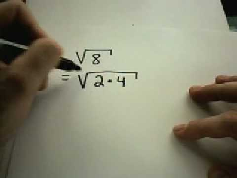 Radical Notation and Simplifying Radicals
