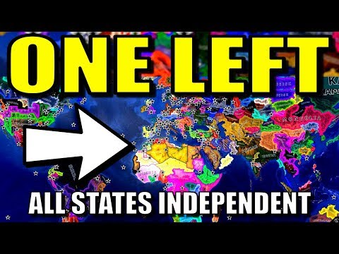 All States Independent Until 1 Country Left! | Hearts of Iron 4 [HOI4 Battle Royale Mod]