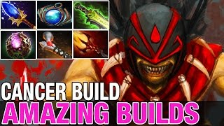 Video CANCER BUILD - Bloodseeker with Aghamin's, Octarine and Aether lens - Amazing Builds 147 - Dota 2 MP3, 3GP, MP4, WEBM, AVI, FLV Januari 2018
