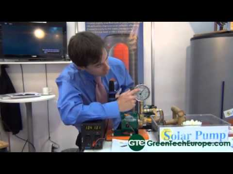 Thermo Dynamics: Solar powered pumps
