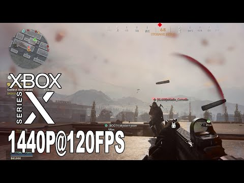 Call of Duty Warzone - 1440p@120fps Framerate Analysis XSX High Resolution Texture Pack [HD 1440P]