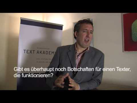 CAS Texter / CAS Texterin: Dominik Allemann, Inhaber Bernet PR