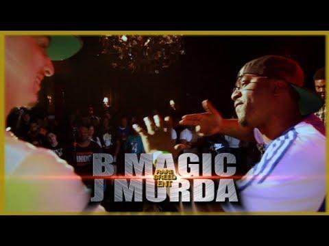 B MAGIC VS J MURDA RAP BATTLE - RBE (видео)