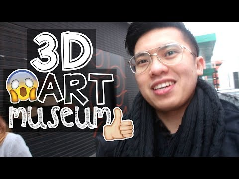 Search Result Youtube Video Dartmuseum - Amazing 3d art museum lets visitors become part art
