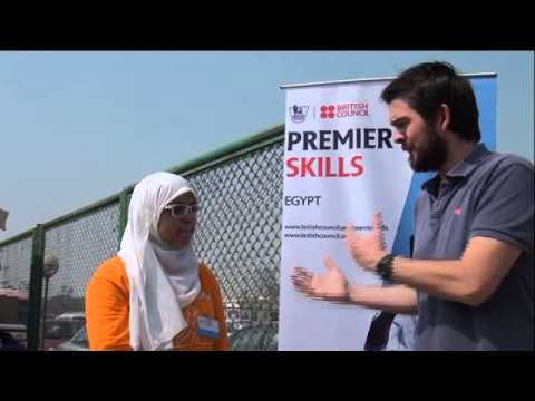 المخرج James Hampson يشارك المركز الثقافى البريطانى في فاعليات مهرجان Sports-Park