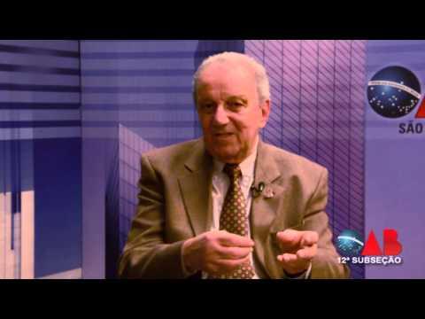 OAB na TV On Line – nº 37  – ENTREVISTADO – Jornalista Saulo Gomes.
