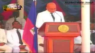 PARADE FETE DRAPEAU 18 MAI A L'ARCAHAIE President Michel Joseph Martelly