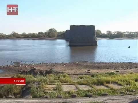 Из-за низкого уровня воды в озере Ильмень количество рыбы зимой  может резко сократиться