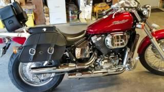 1. 2007 Honda Shadow Spirit 750 DC Motorcycle Saddlebags Revew - vikingbags.com