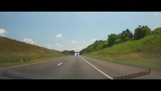Mifflinville (PA) United States  city photos : Driving on Interstate 80 - Pennsylvania from Clinton County to Mifflinville
