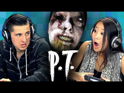 P.T. [PART 1] – Silent Hills (Teens React: Gaming)