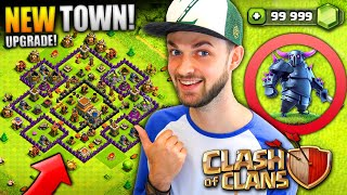 Video I'M BACK - NEW TOWN HALL UPGRADE! - Clash of Clans MP3, 3GP, MP4, WEBM, AVI, FLV Oktober 2017