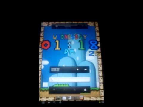 Video of 16 Bit Digital Clock Wallpaper
