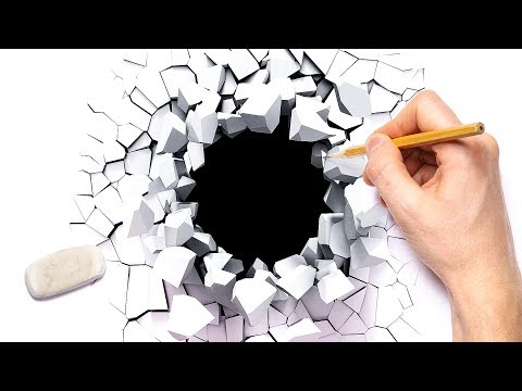 16 Satisfying Optical Drawing Technics