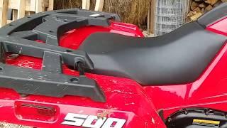 6. A Review Of My New Alterra 500cc Textron ATV!!