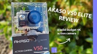 Video 4K, Touch Screen, Image Stabilization | Akaso V50 Elite Review MP3, 3GP, MP4, WEBM, AVI, FLV Mei 2019