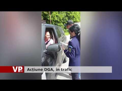 Acțiune DGA, în trafic