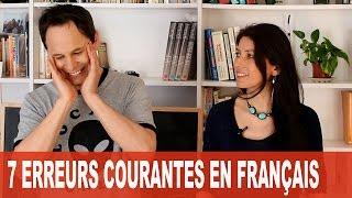 En corrigeant ces 7 erreurs en français, vous allez vous améliorer ! LA FICHE, L'EXERCICE, LE PODCAST ET LA...