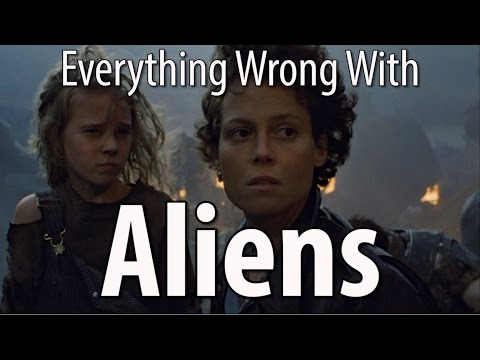 Everything Wrong With Aliens In 15 Minutes Or Less