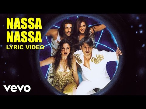 Nassa Nassa Lyric Video - Kaal|John Abraham,Vivek, Lara, Esha|Sonu Nigam, Sunidhi Chauhan