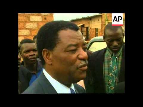 Presidential elections in Zambia, opposition candidate voting