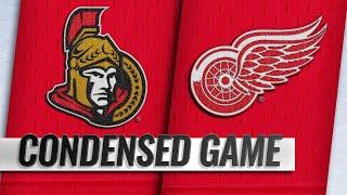 12/14/18 Condensed Game: Senators @ Red Wings by NHL