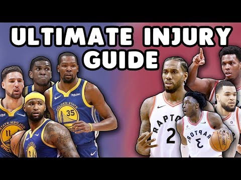 Doctor's ULTIMATE NBA Finals Injury Guide | Kevin Durant, Kawhi Leonard, Klay Thompson, & more!