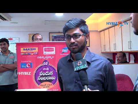 , Hitesh Sakshi Panduga Sambaralu 2017 Winner