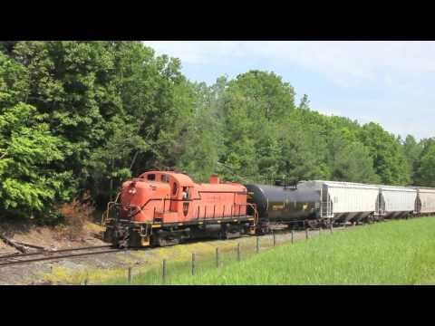 ALCO - We made a nice visit this morning down to the Battenkill railroad, where we would hear the wonderful sounds and sights of Alco RS-3 #4116 of the former Green...