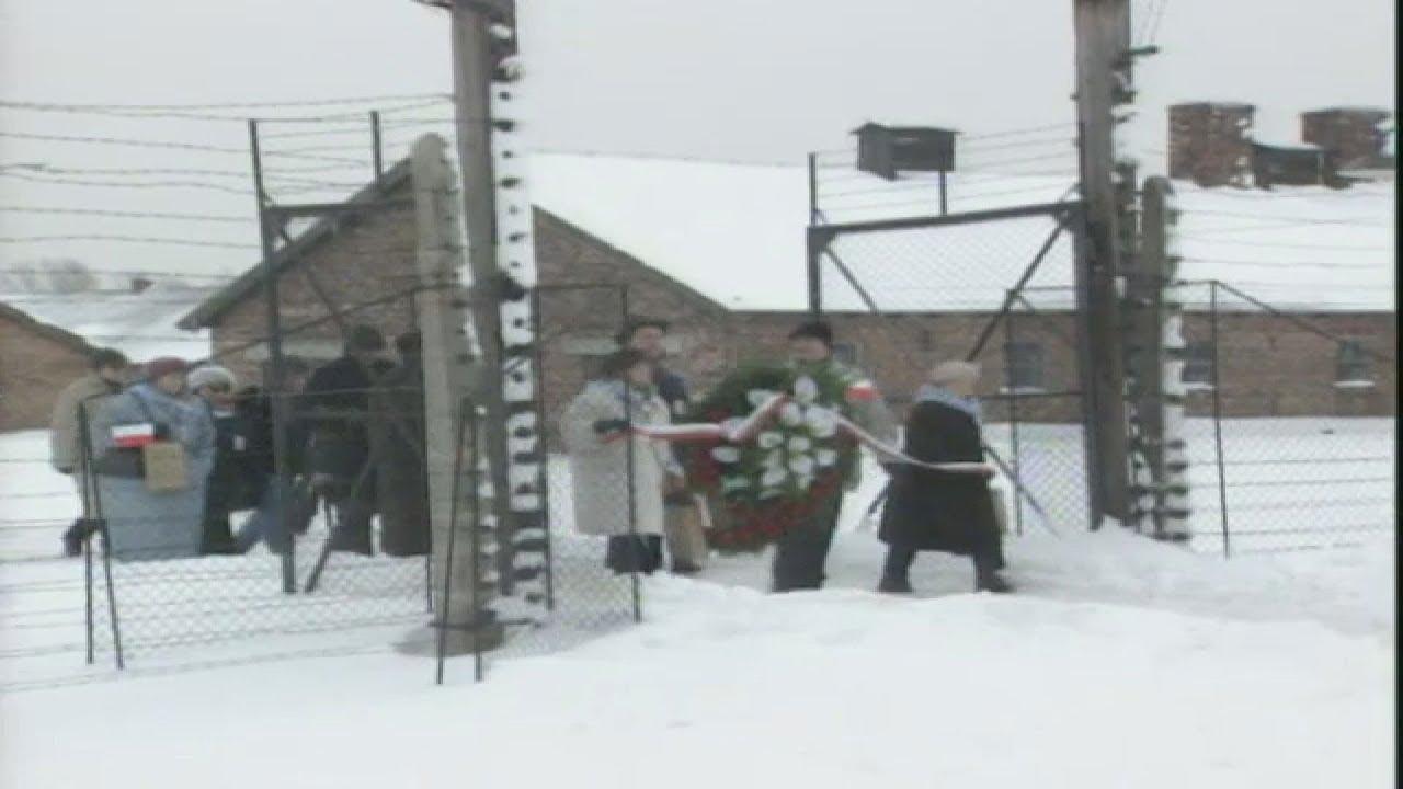 Εορτασμός της 60ής επετείου της απελευθέρωσης του Άουσβιτς-Μπίρκεναου(Αρχείακό υλικό)